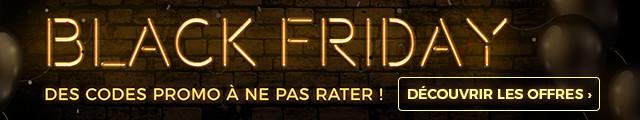 Découvrez les meilleures offres et codes promo du Black Friday